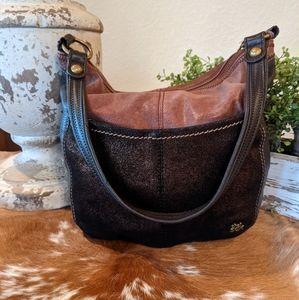 The Sak Slouchy Leather Hobo Shoulder Bag